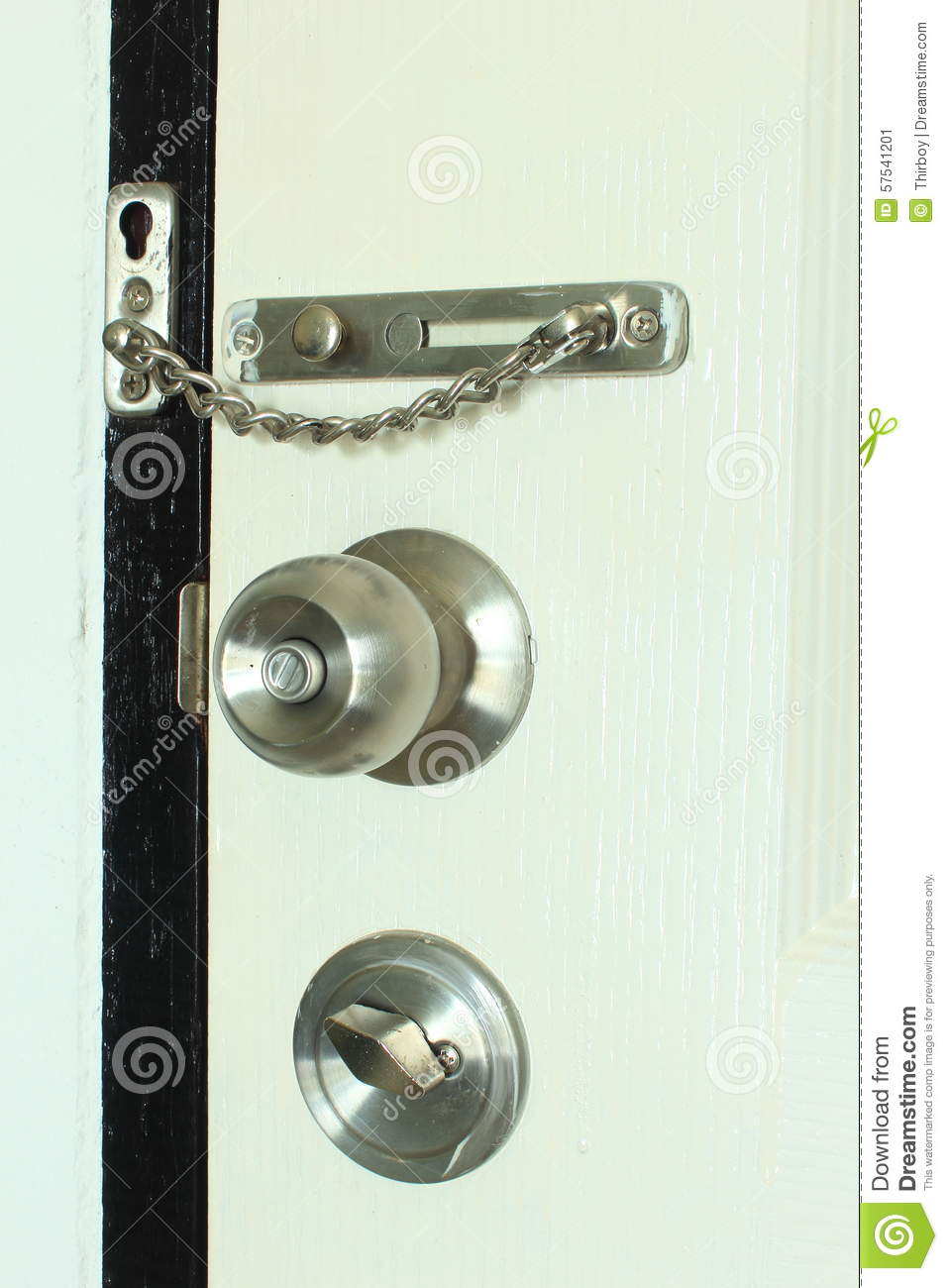 Security Door Locks Types Stock Photo Image 57541201