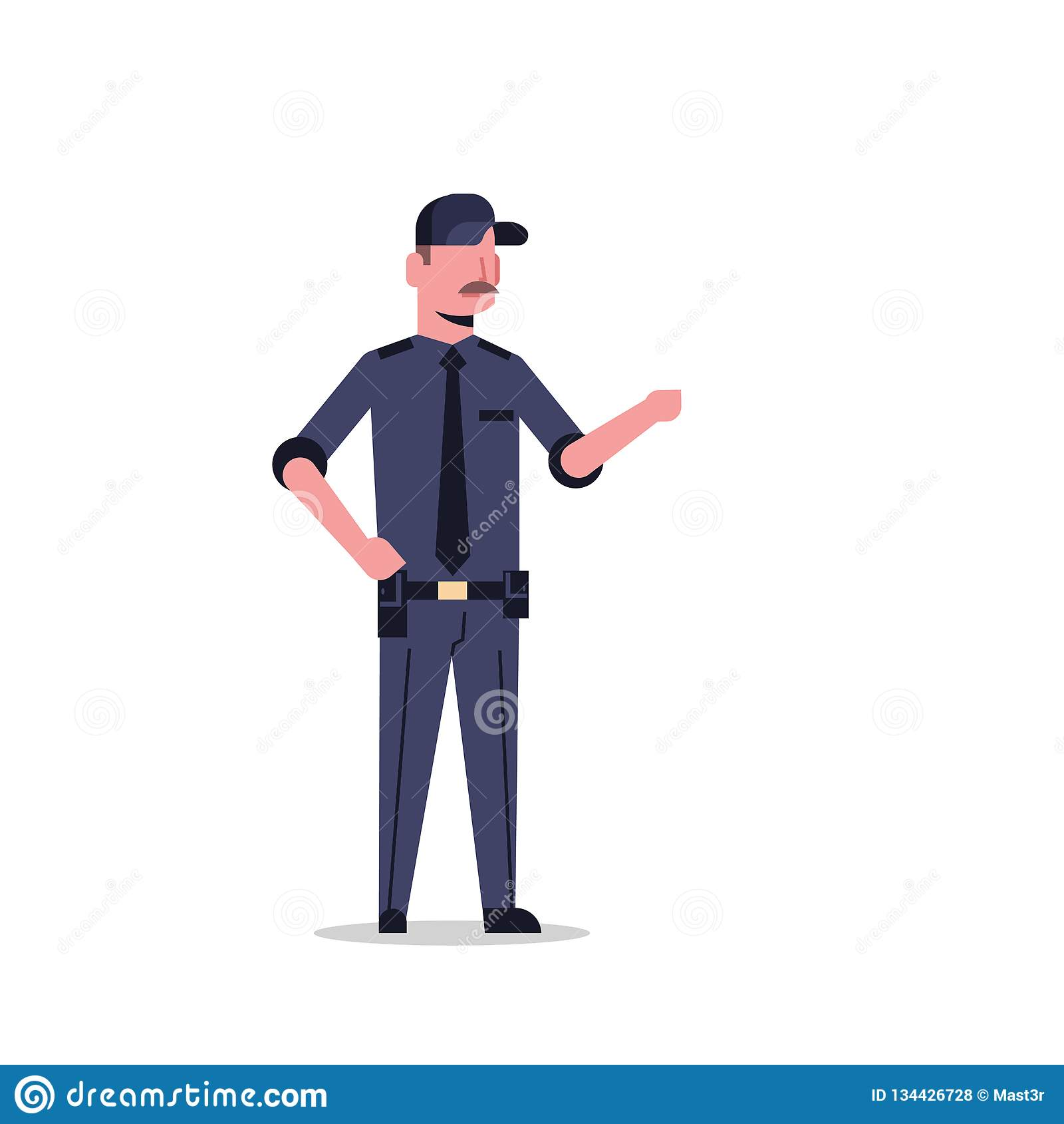 A uniform man about Something in