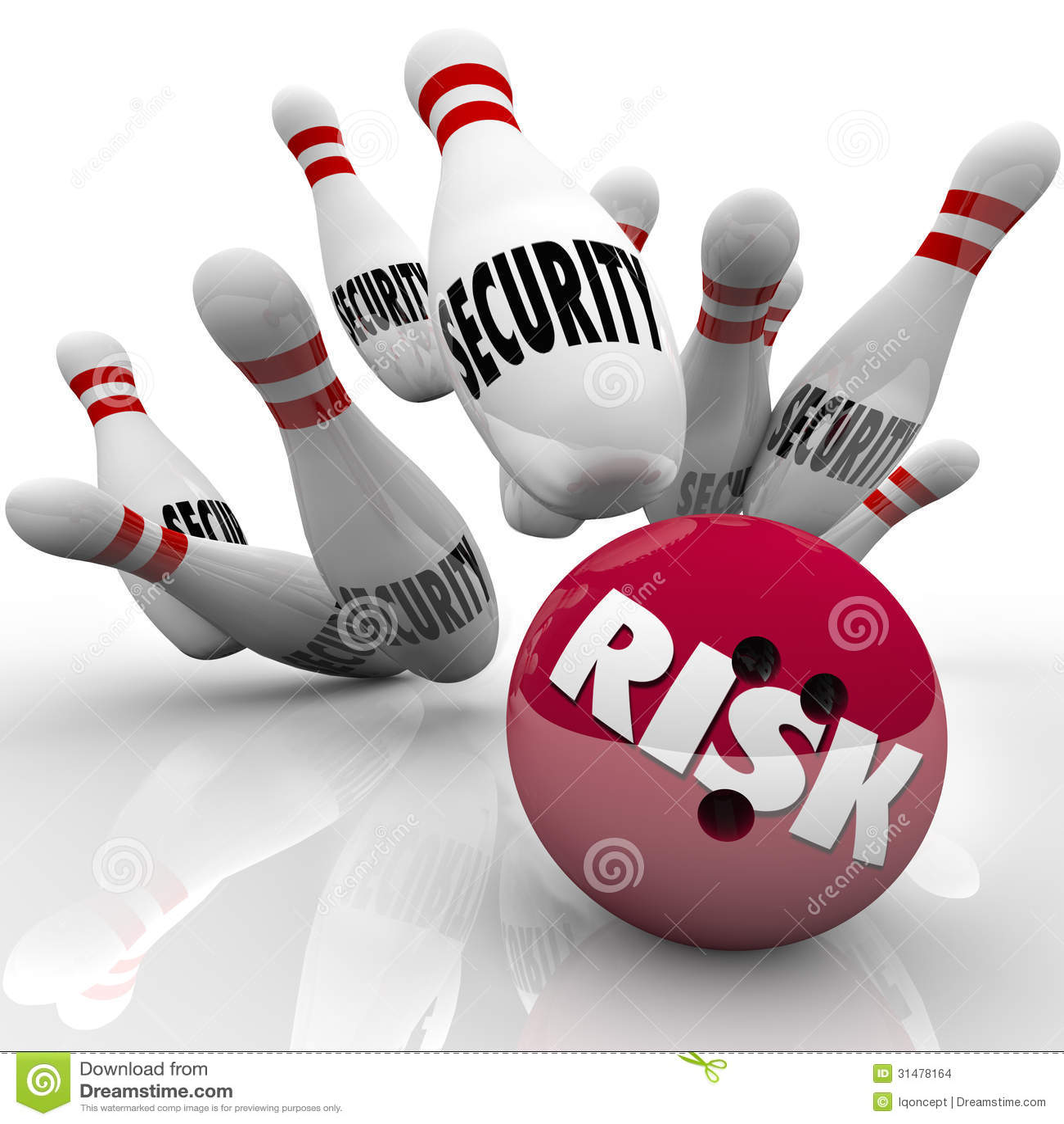 ... Risk Bowling Ball Danger Risking Safety Stock Images - Image: 31478164