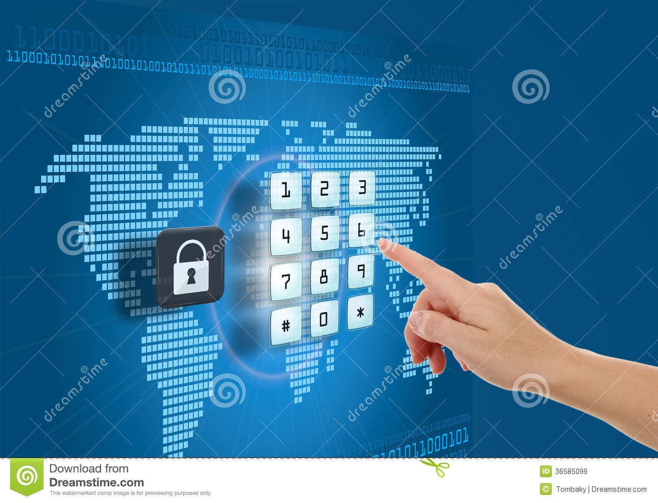 Security and protection in Internet