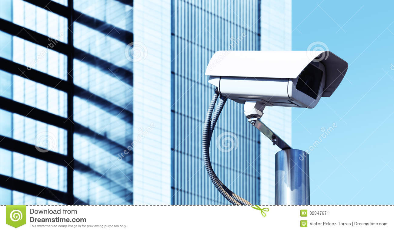 Security Tv Camera Stock Image Image 32347671