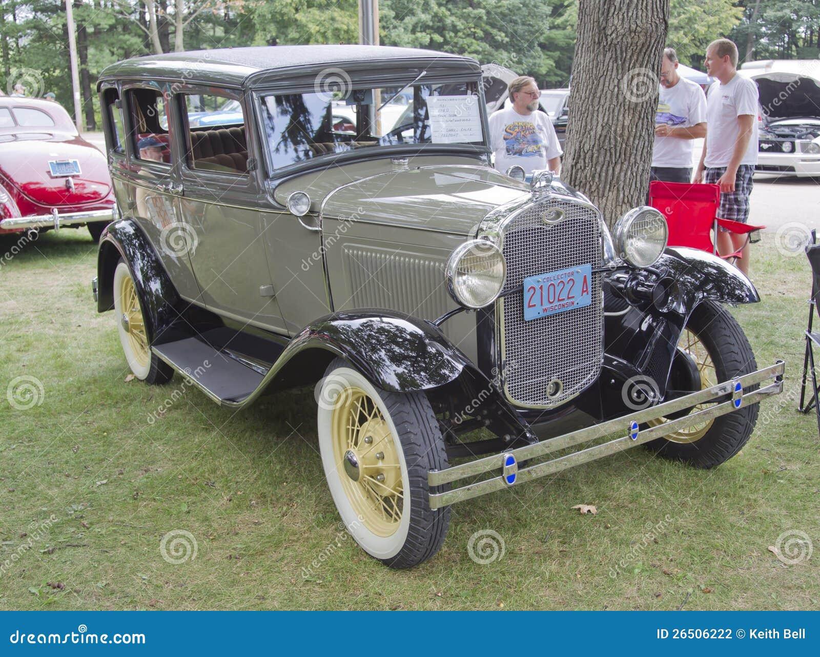 Sedan 1931 da cidade de Ford