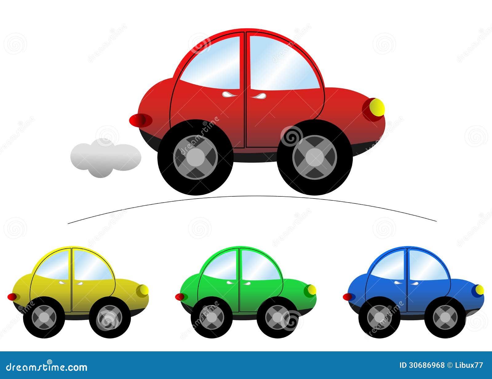 Sedan Cartoon Car stock vector. Illustration of drive ...