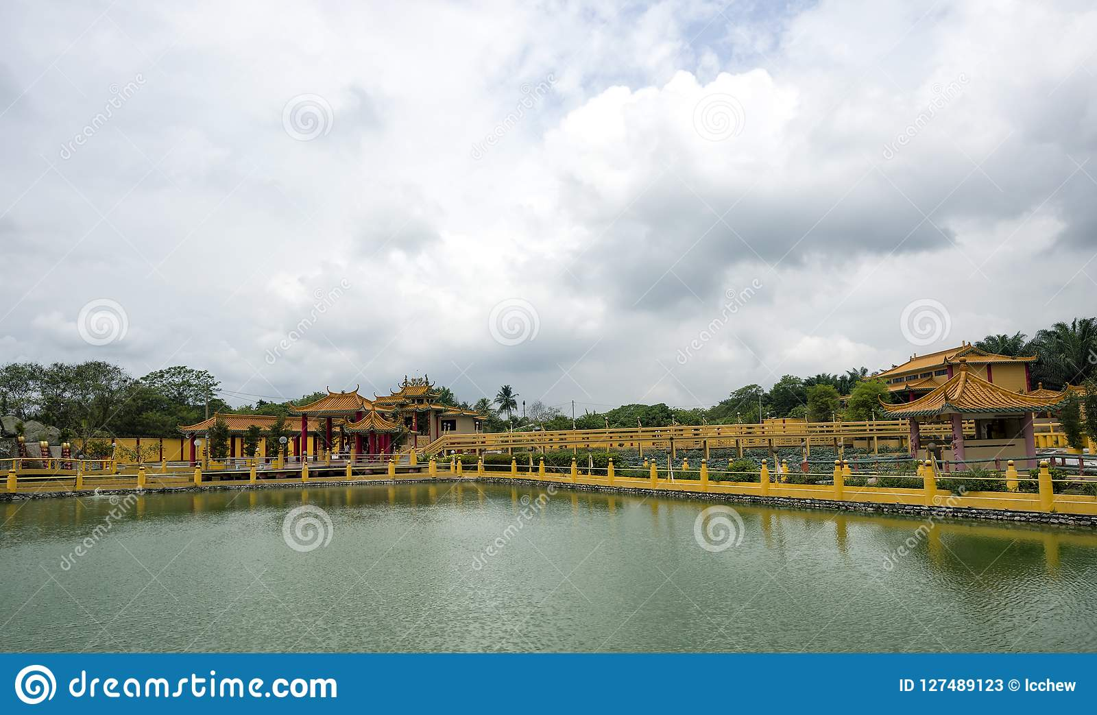 Sedd Hock Yeen, Konfucius tempel, Chemor, Malaysia
