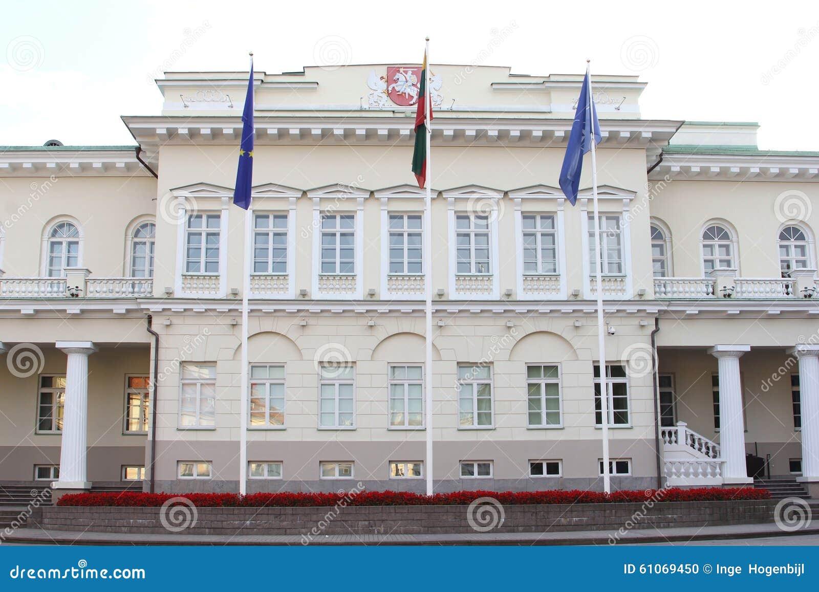 Sede del parlamento a vilnius lituania fotografia stock for Sede del parlamento