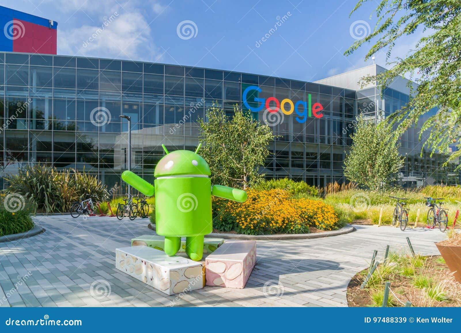 Sedi corporative e logo di Google