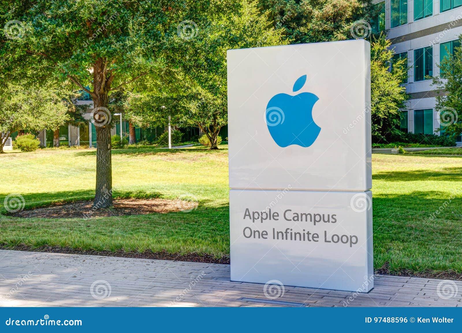 Sedi e logo del mondo di Apple Computer