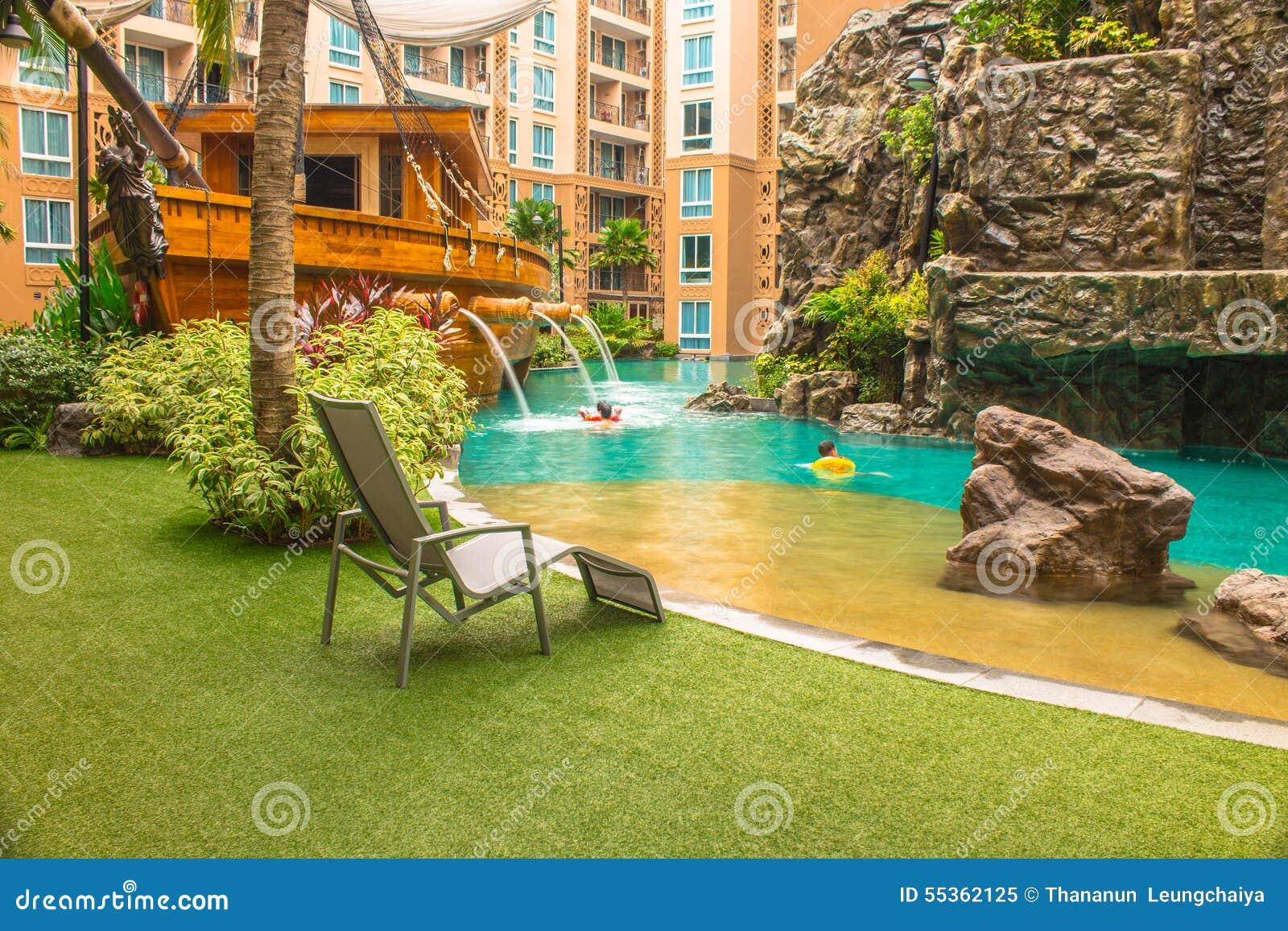 Sedia della piscina