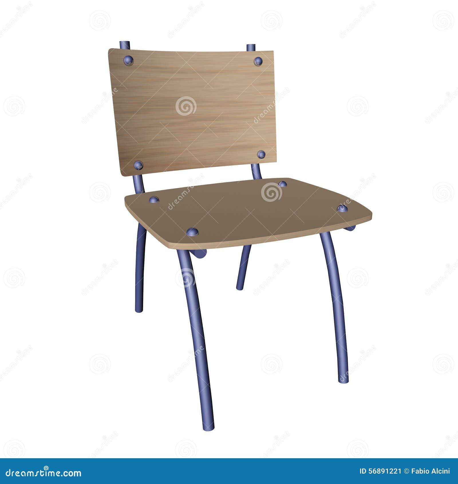 Sedia della scuola