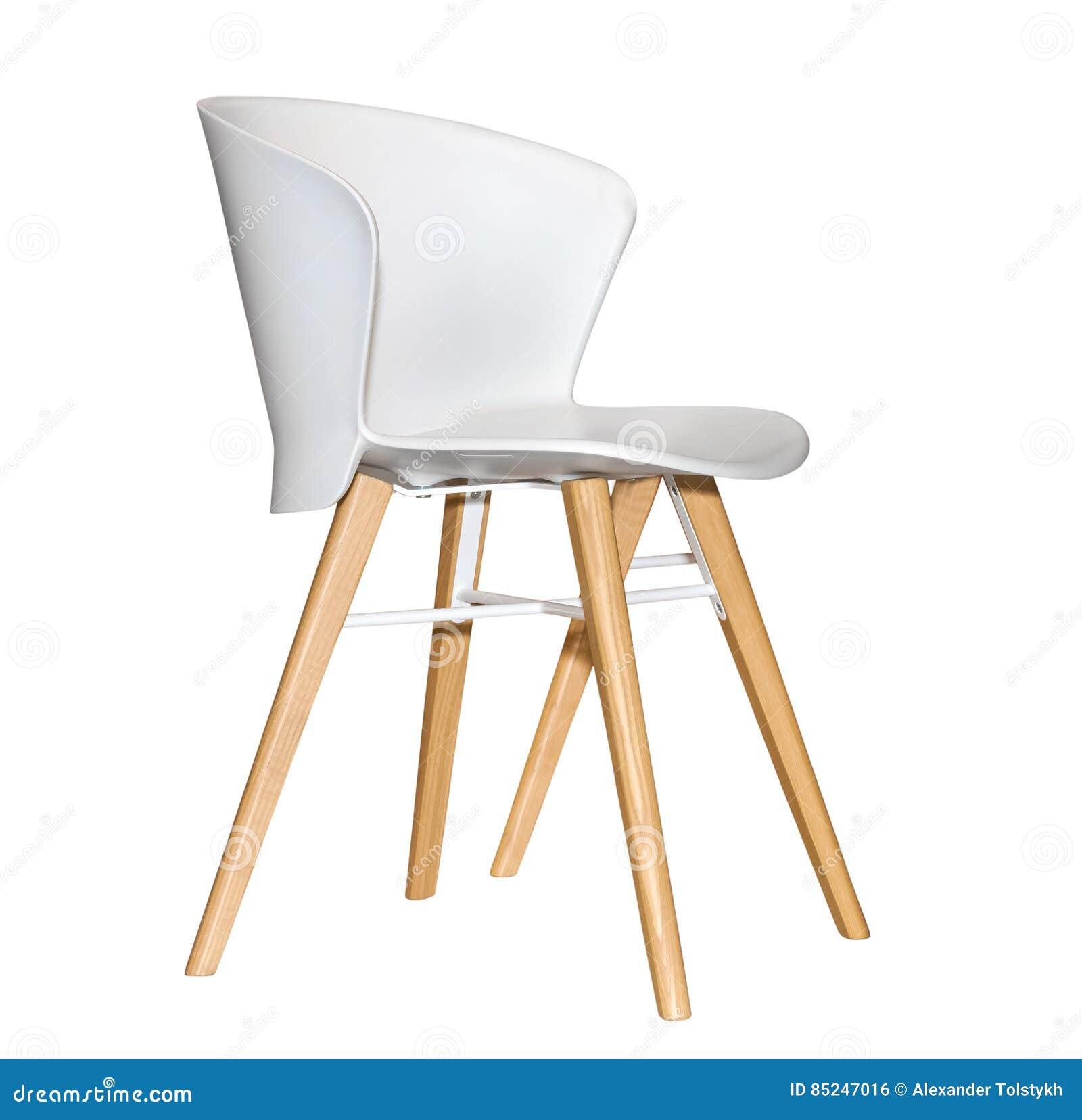 Sedia Da Cucina Plastica.Sedia Di Plastica Moderna Della Cucina Fotografia Stock Immagine