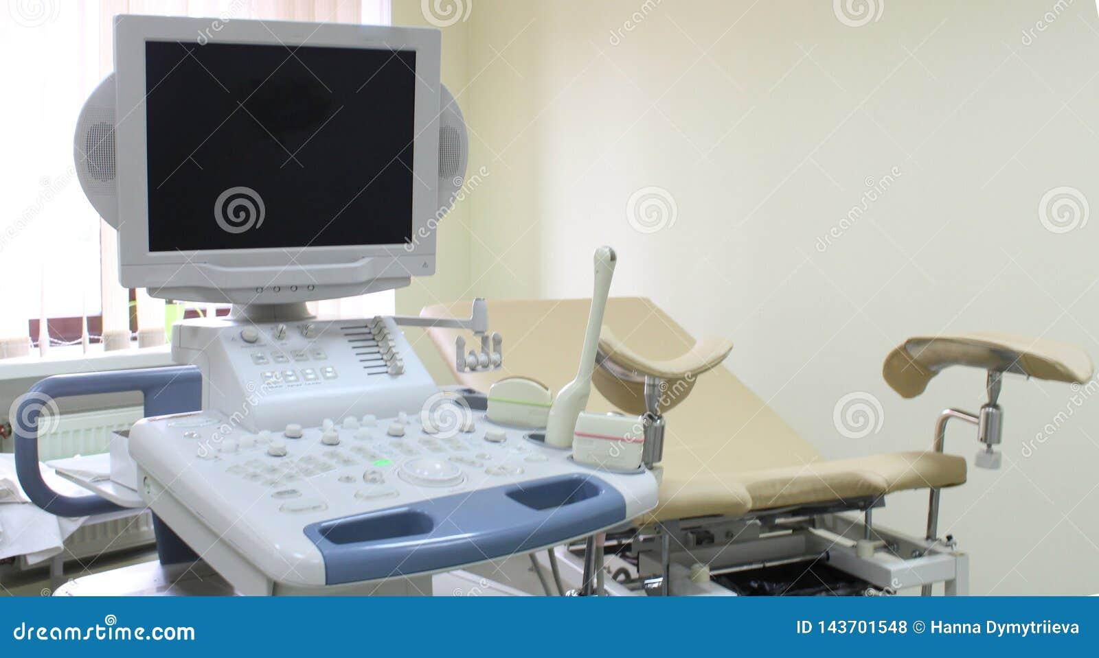 Sedia ginecologica dell attrezzatura medica