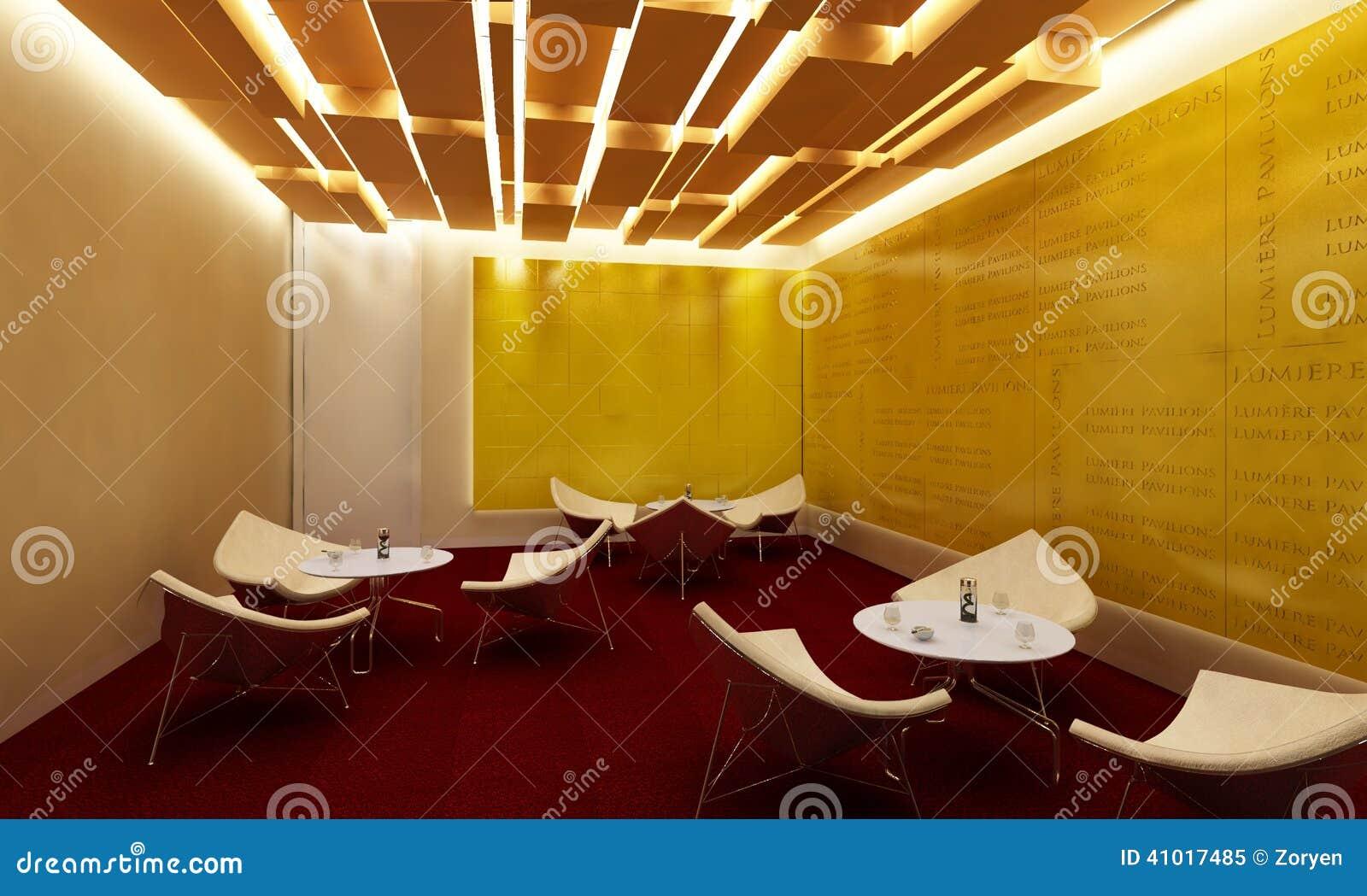 Sedie e tabelle moderne bianche della stanza del salotto for Sedie bianche