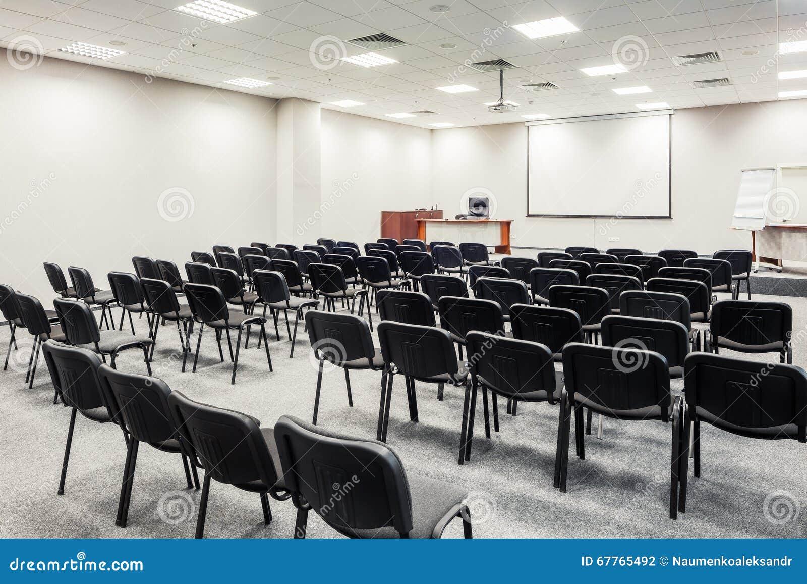 Sedie Nella Sala Per Conferenze Fotografia Editoriale ...