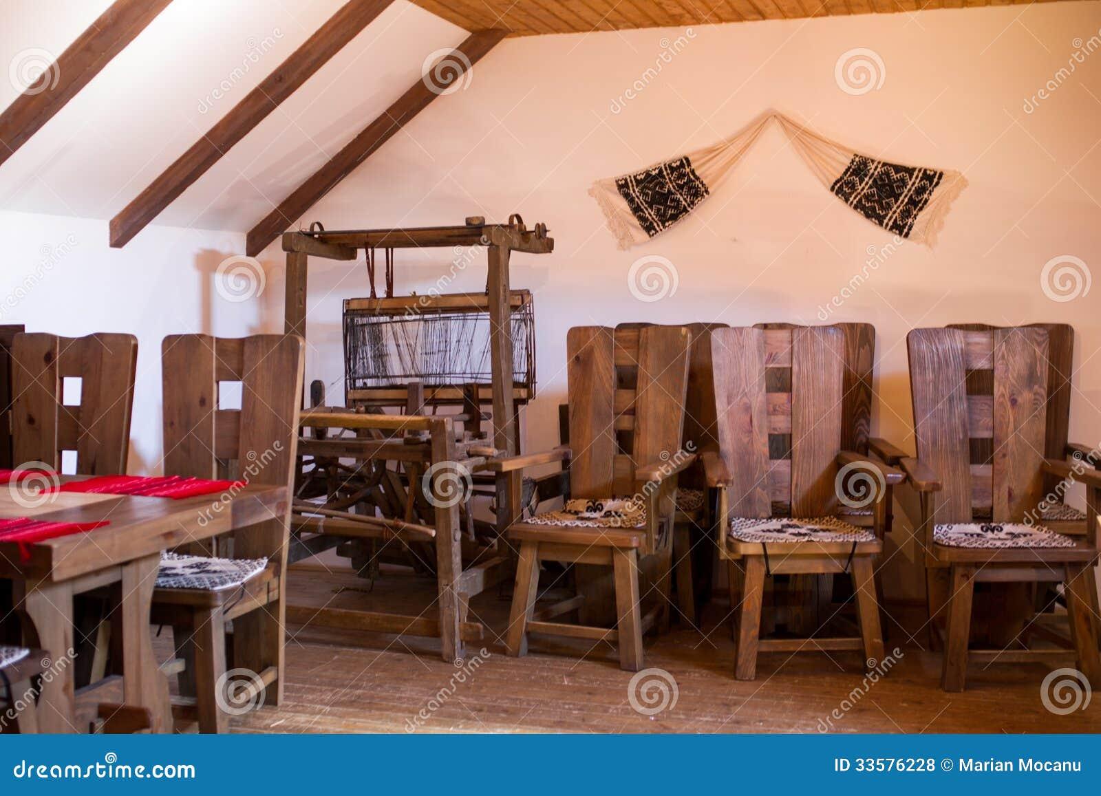 Sedie Rustiche In Legno.Sedie Rustiche Fotografia Stock Immagine Di Presidenza 33576228
