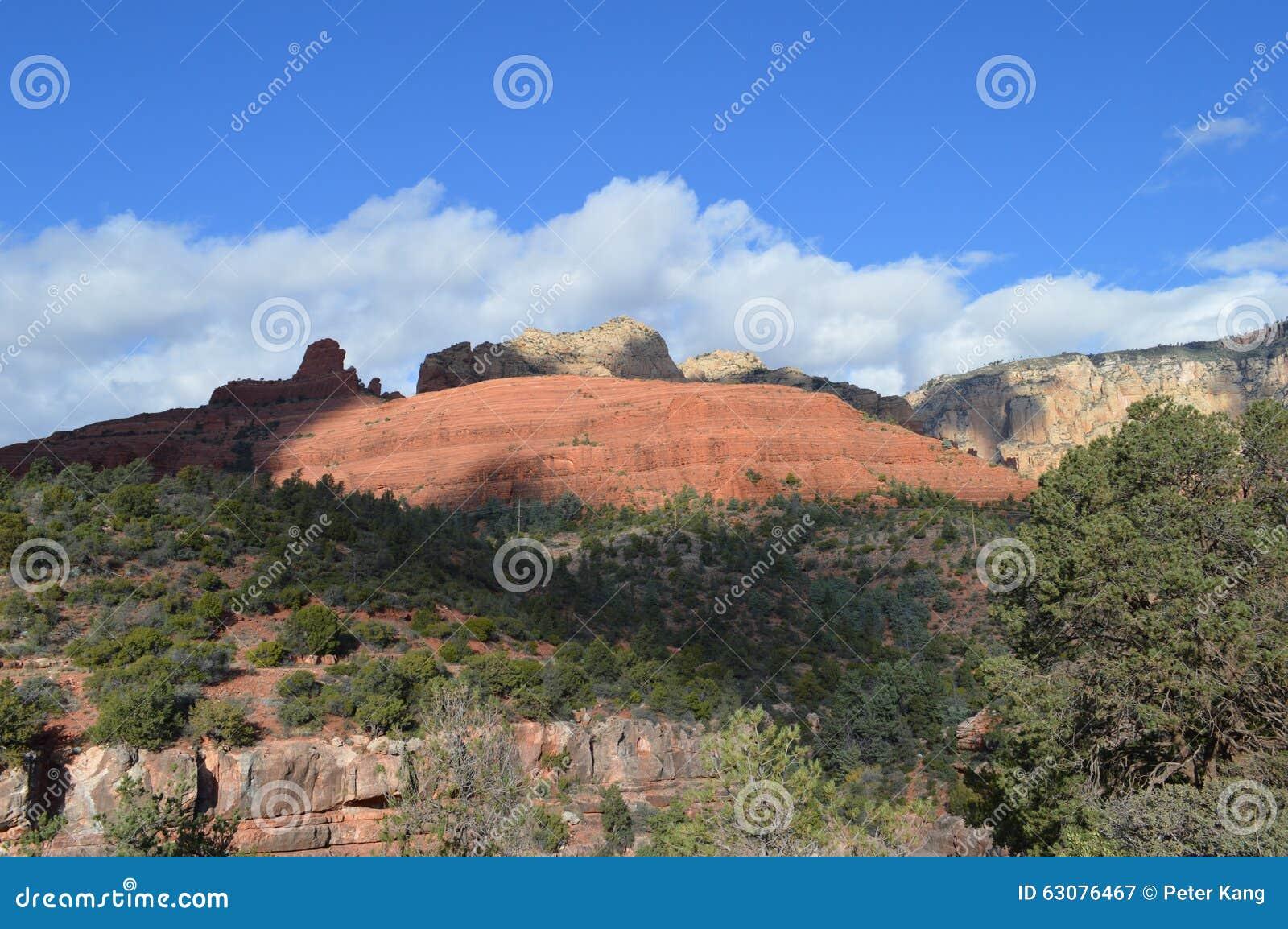Download Sedona Moutains image stock. Image du désert, falaises - 63076467