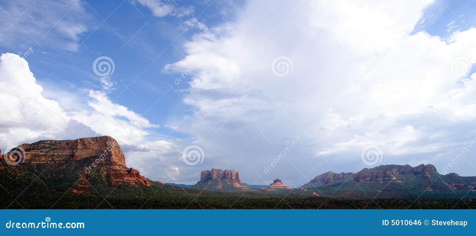 Sedona panoramy