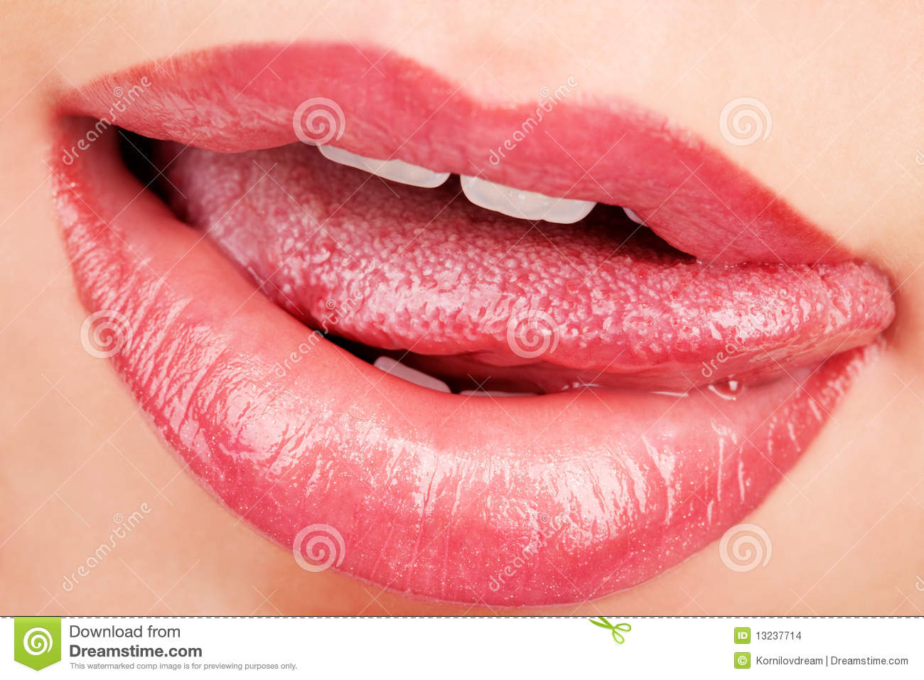Seductive Lips Stock Images - Image: 13237714