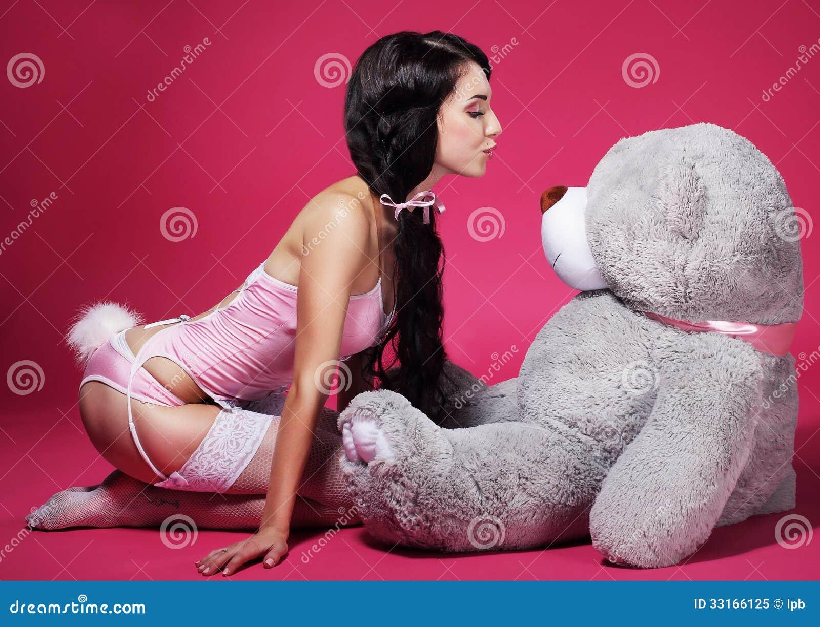 Секс с плюшевыми мишками 16 фотография