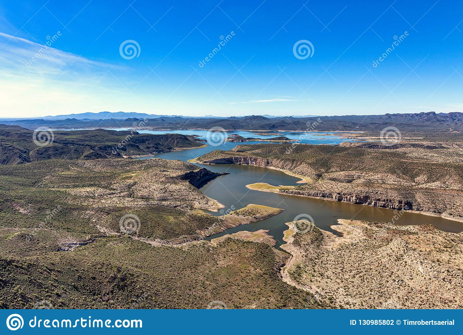 See angenehm, Arizona ein populäres Erholungsgebiet nordwestlich von Phoenix