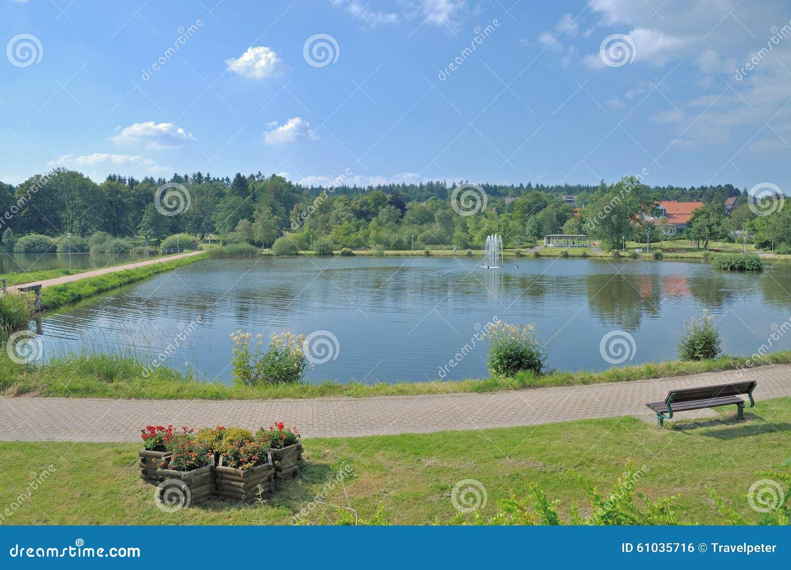 see kranichsee hahnenklee goslar harz berg deutschland stockfoto bild von zieleinheit. Black Bedroom Furniture Sets. Home Design Ideas