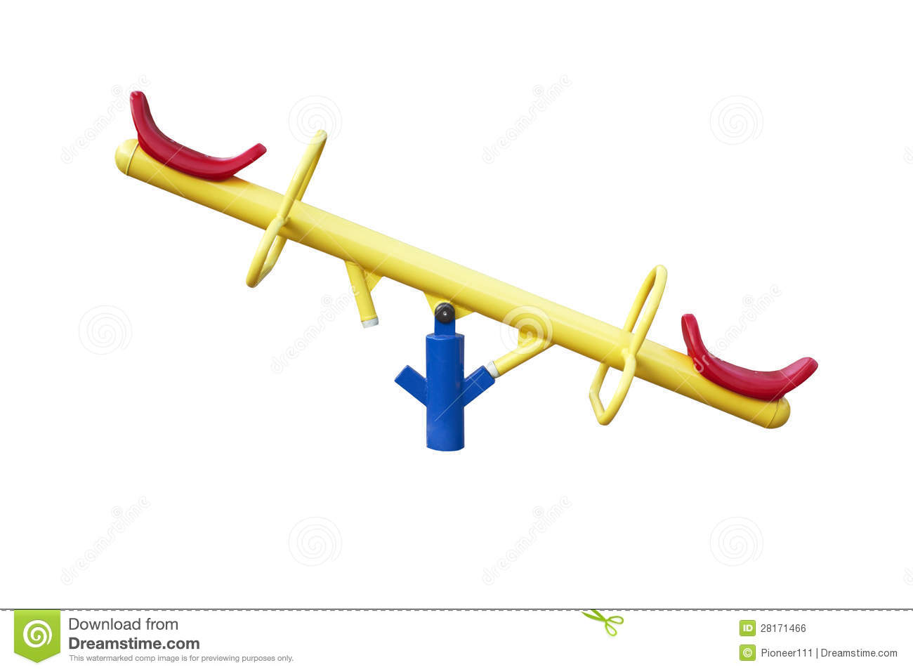 See saw royalty free stock image image 28171466 for Seesaw plans designs