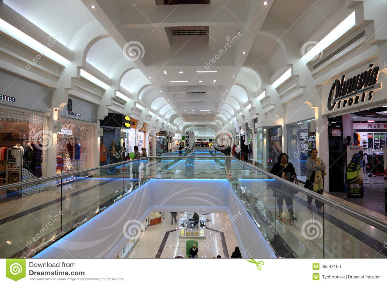 Seef mall in manama bahrain editorial stock image image for United international decor bahrain