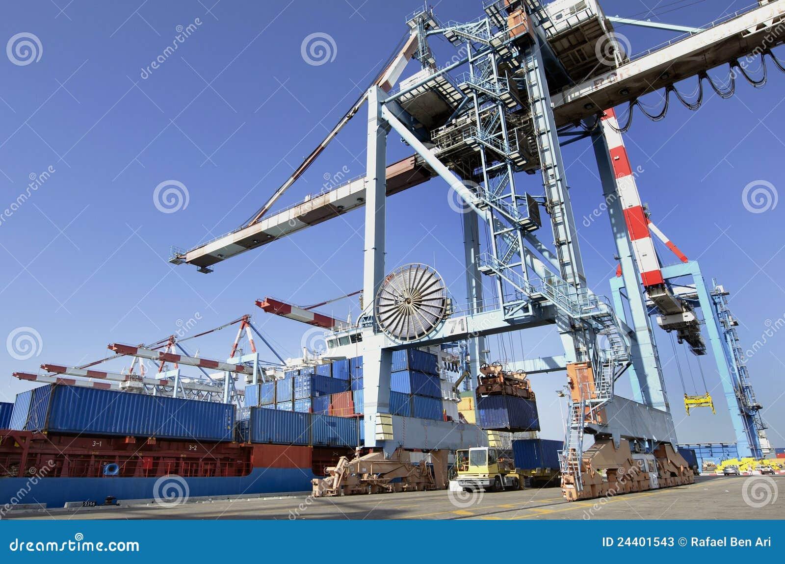 Seehafen-Fracht und Seefracht
