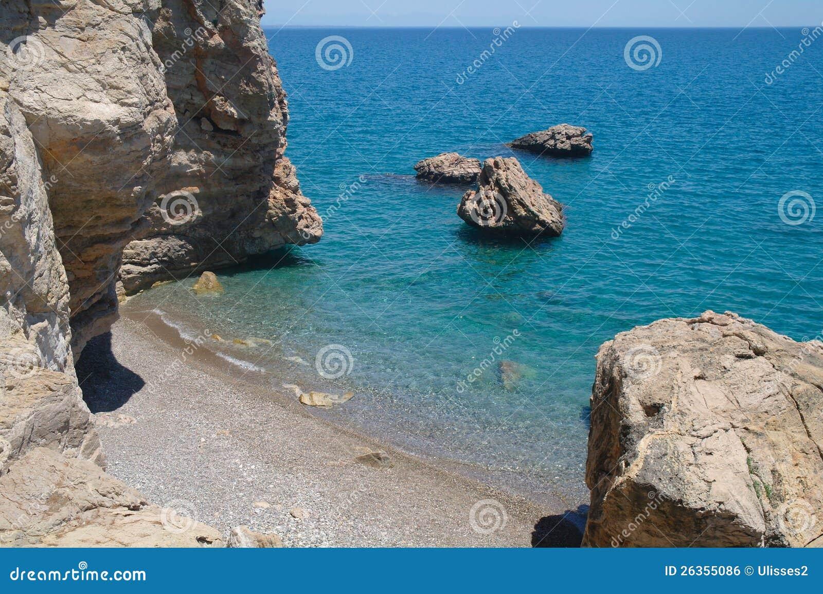 Seeküste, die Türkei.