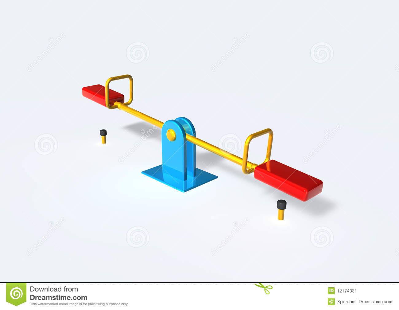 Seesaw stock image image 12174331 for Seesaw plans designs