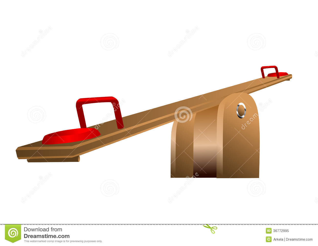 Seesaw royalty free stock photo image 36772995 for Seesaw plans designs