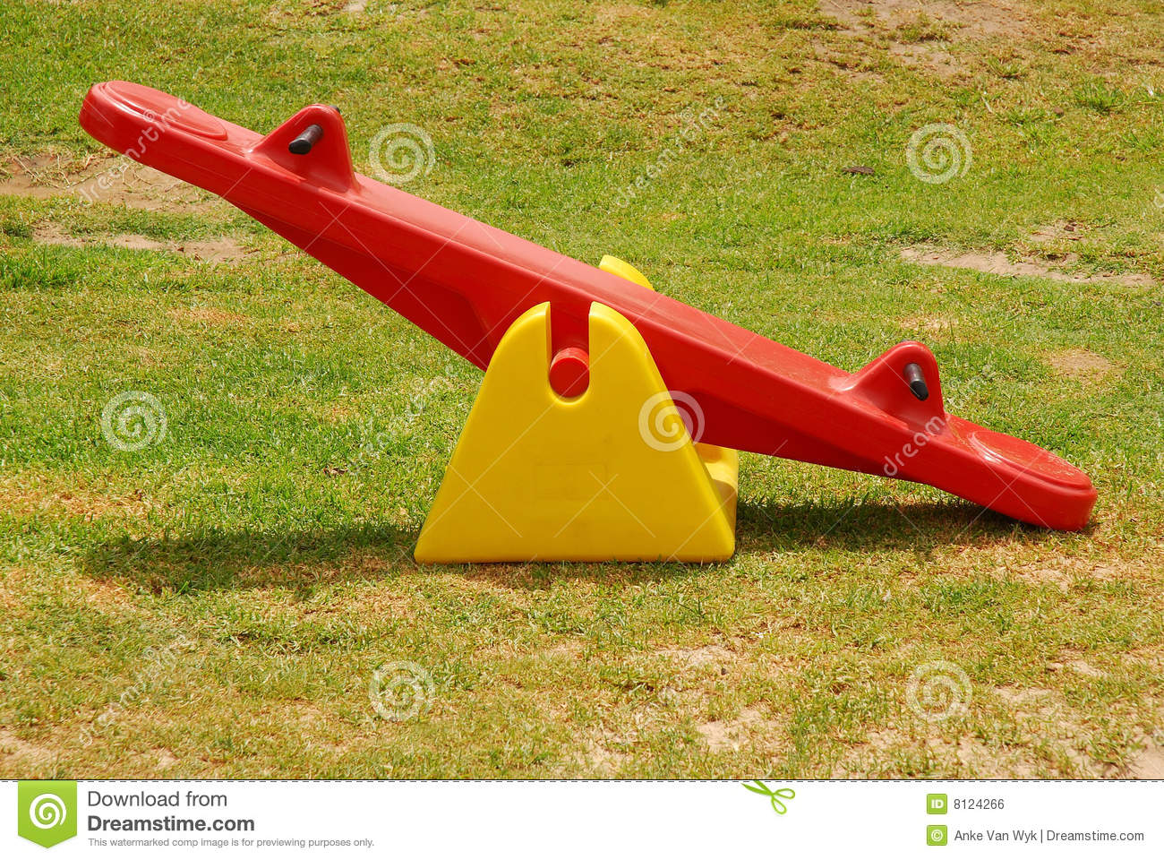 Seesaw In Park Royalty Free Stock Image Image 8124266