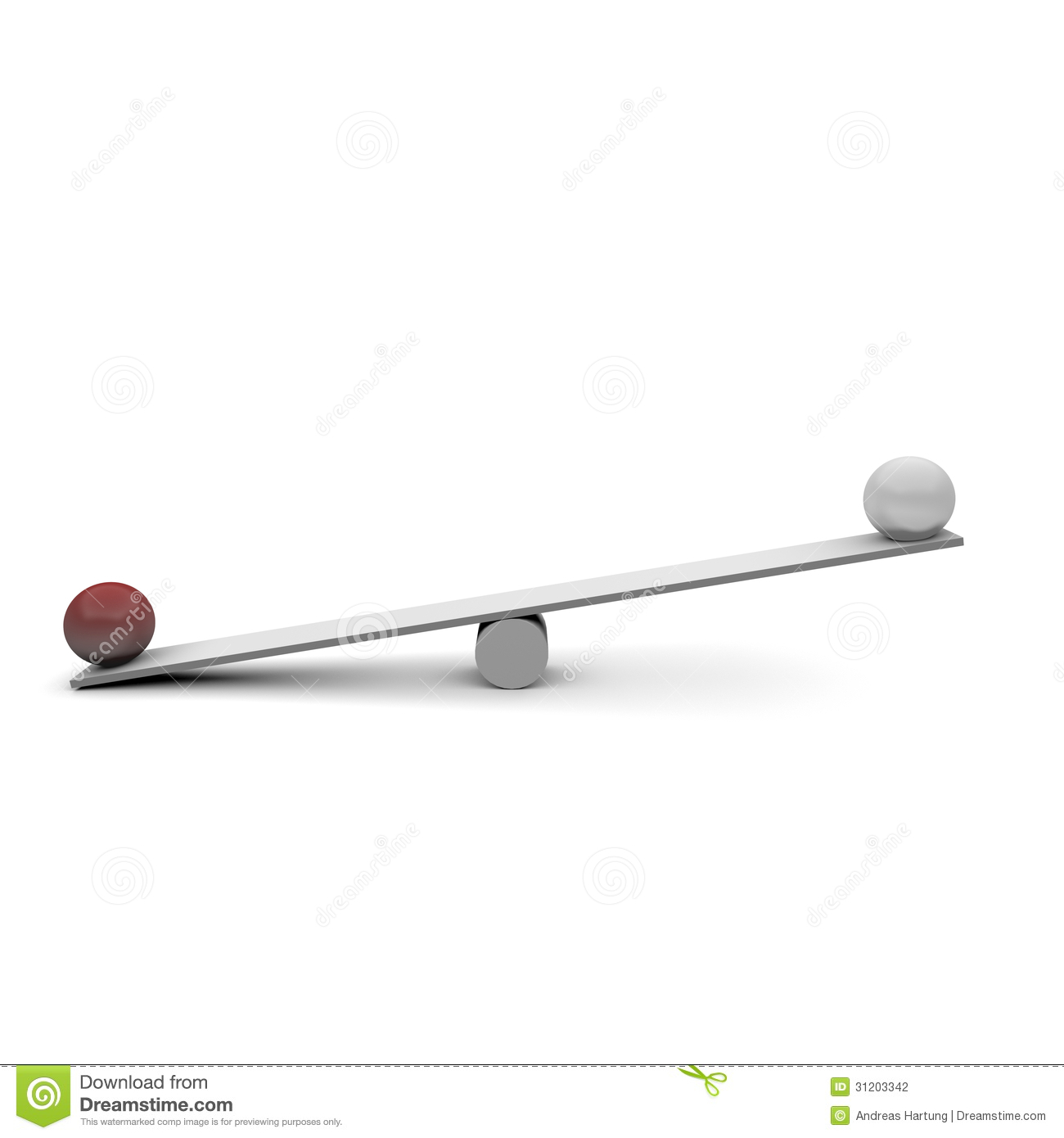 Seesaw Stock Photography - Image: 31203342