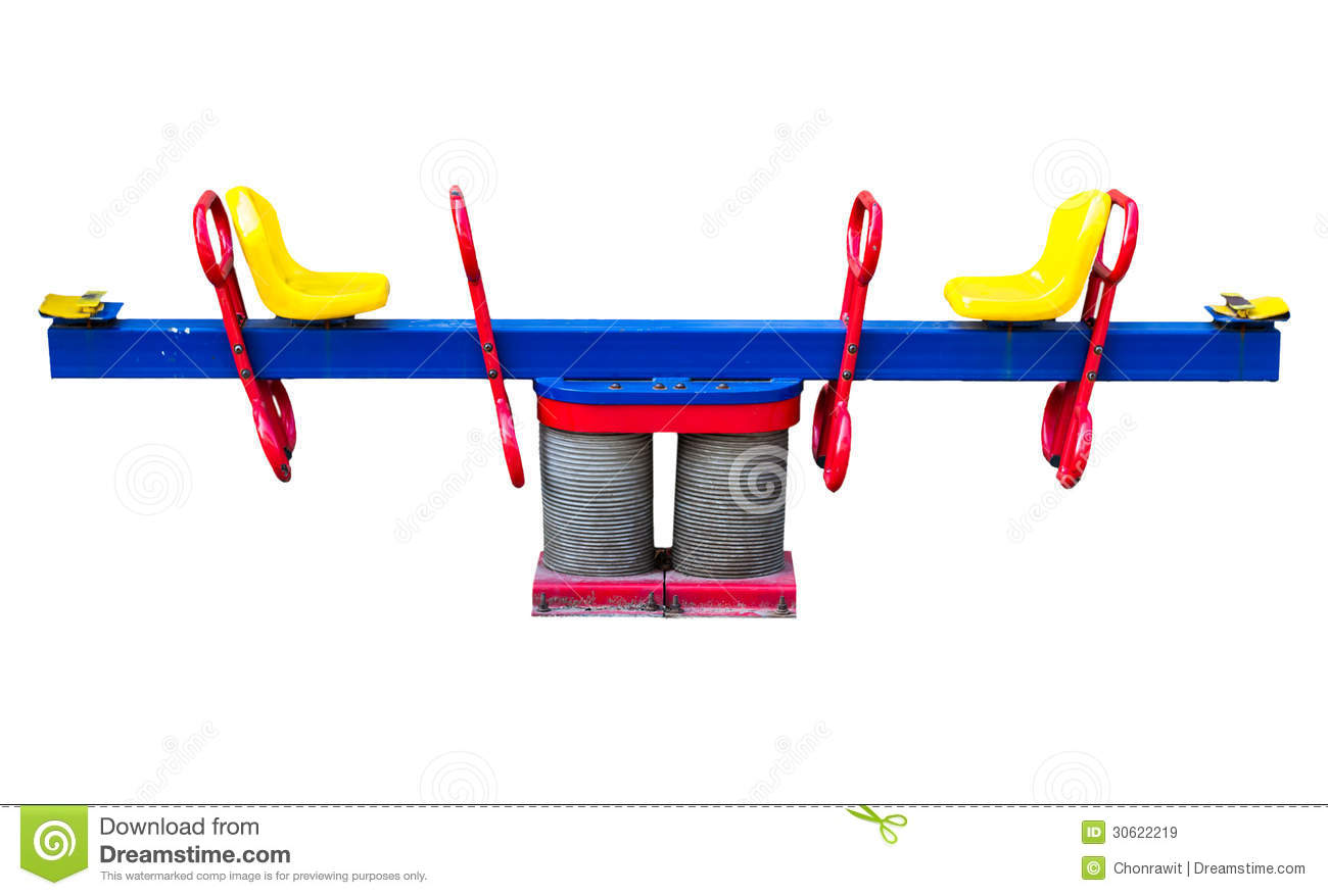 Seesaw royalty free stock images image 30622219 for Seesaw plans designs