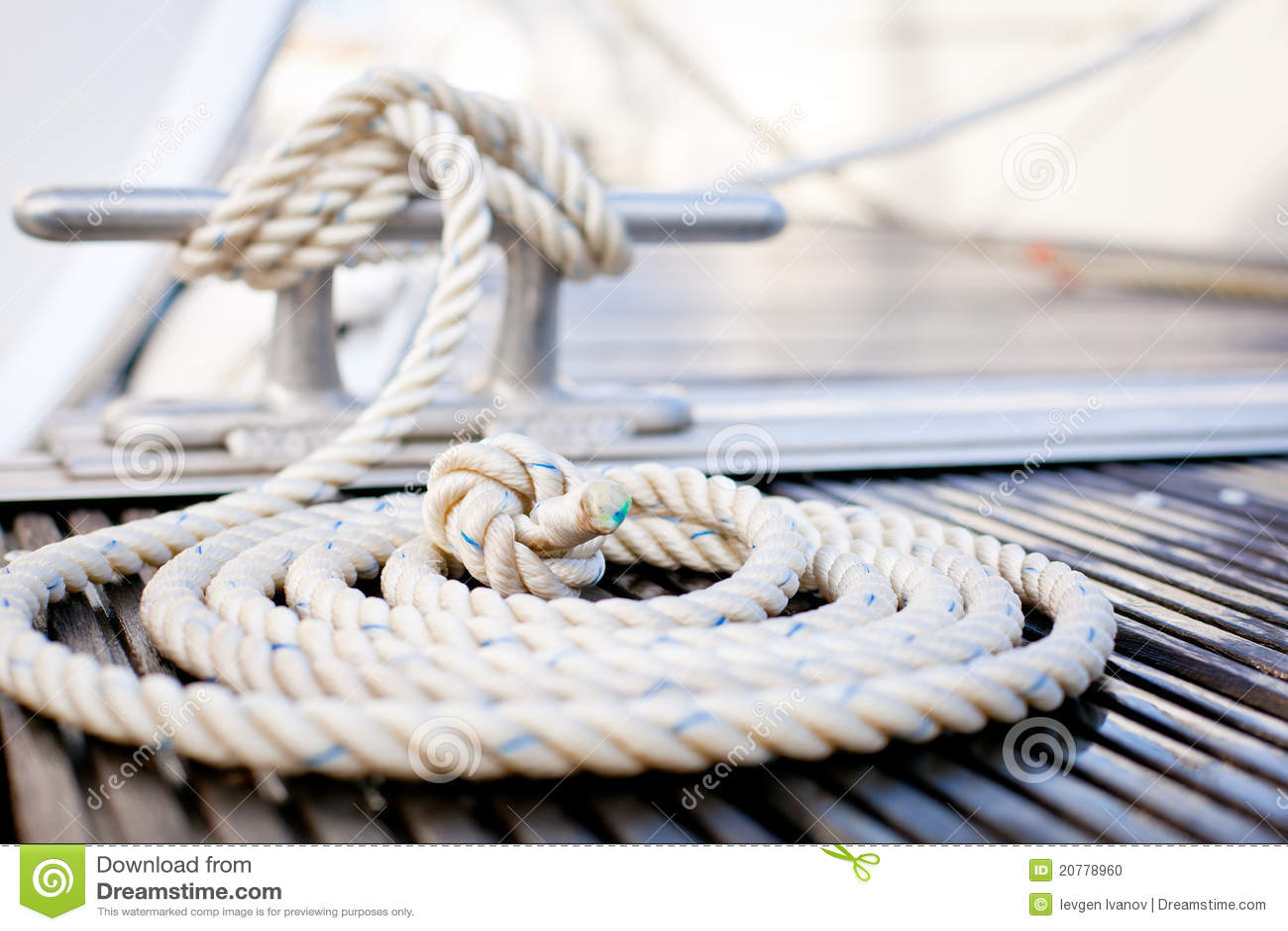 Seeverankerungs- Seil