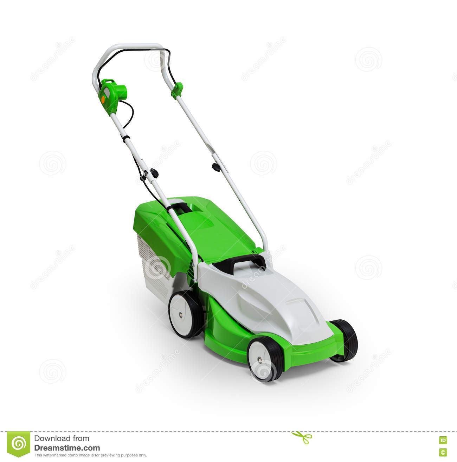 Segadeira de gramado elétrica