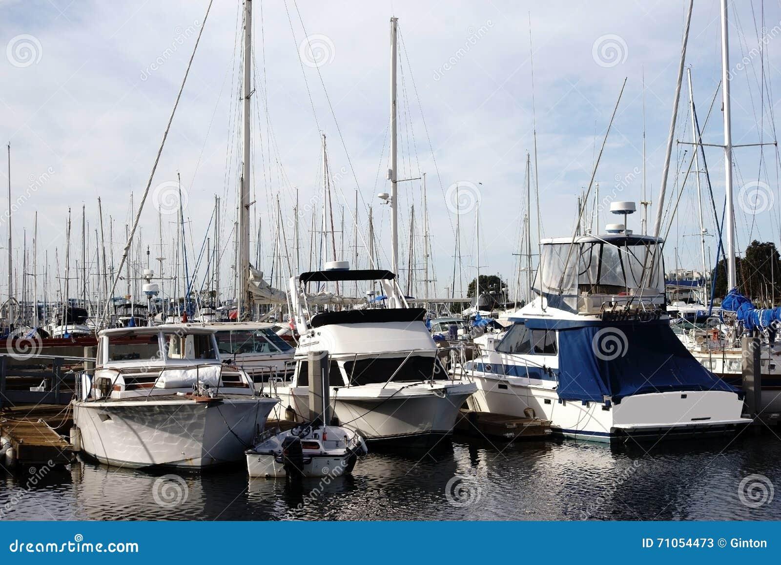 Segelbåthamn Marina del Ray