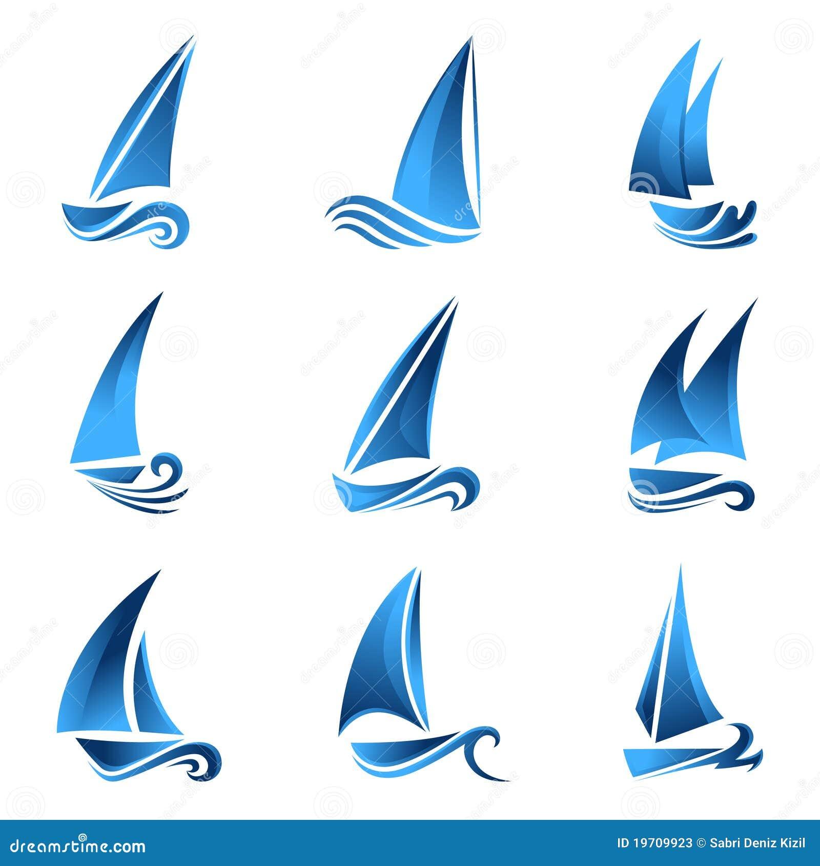 Segelbåtsymbol