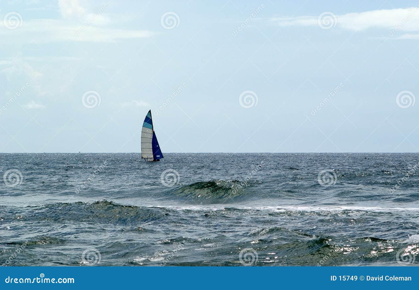 Segeln in geöffnetes Wasser