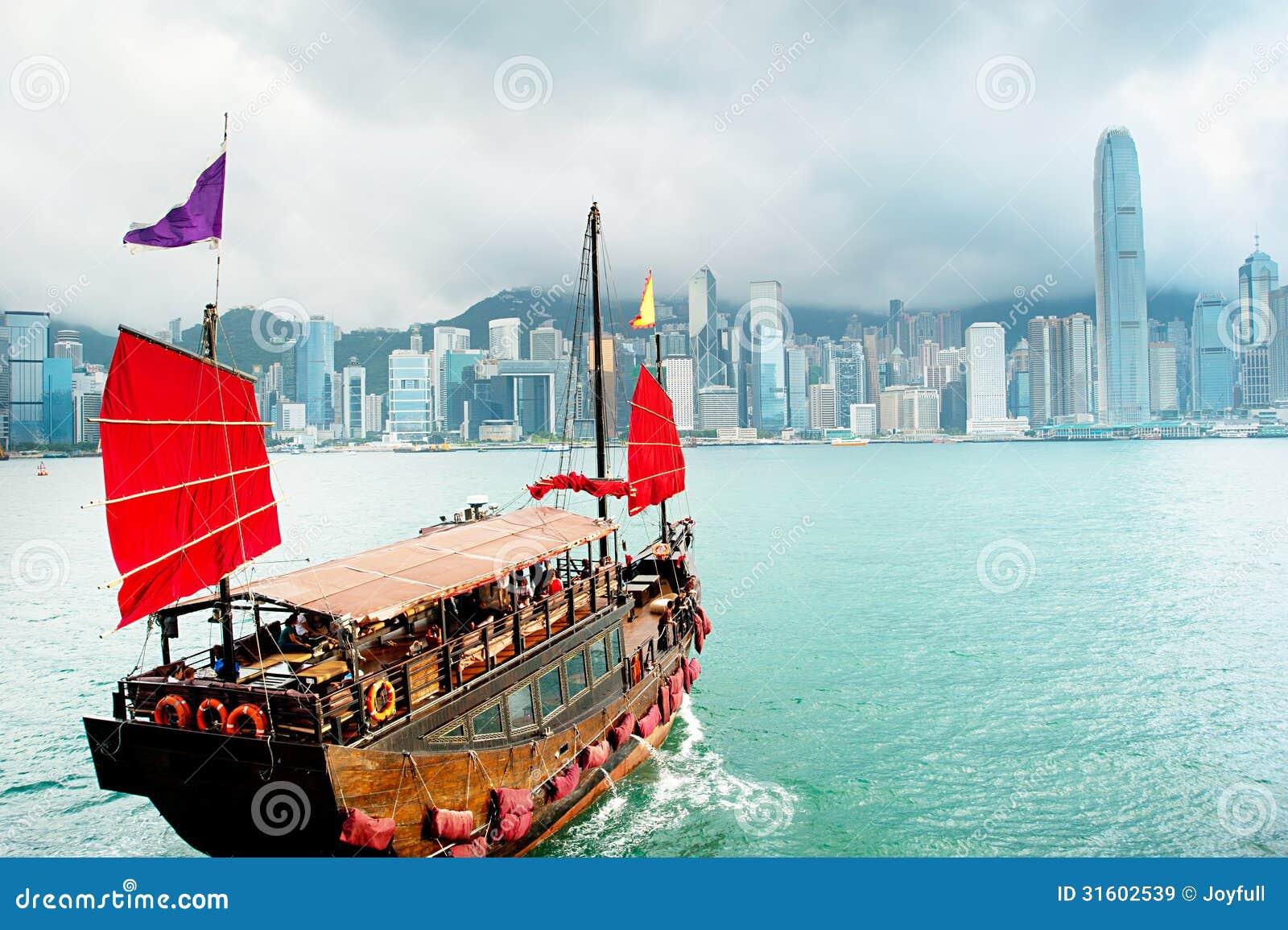 Segla i Hong Kong