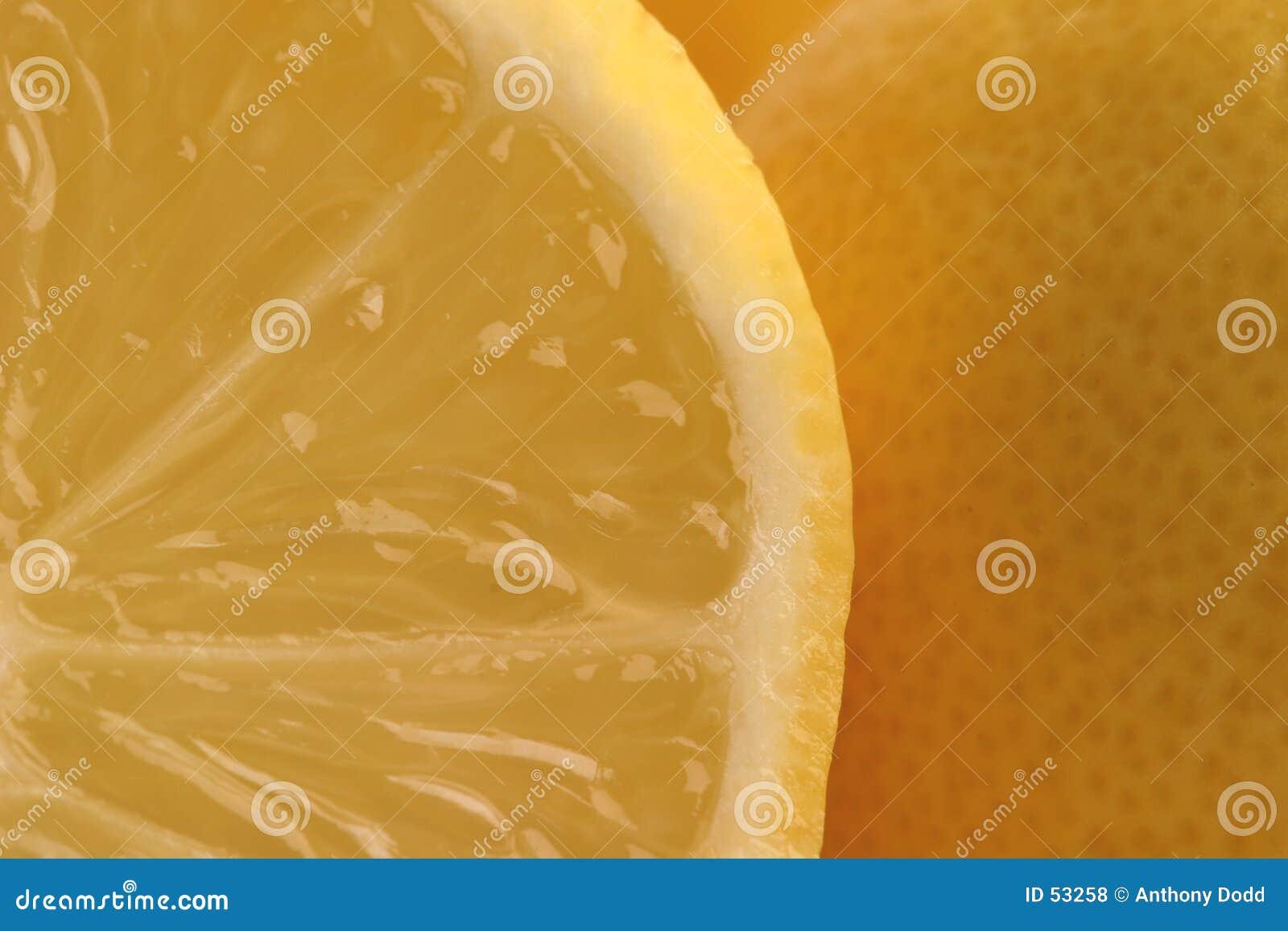 Segmentos do limão
