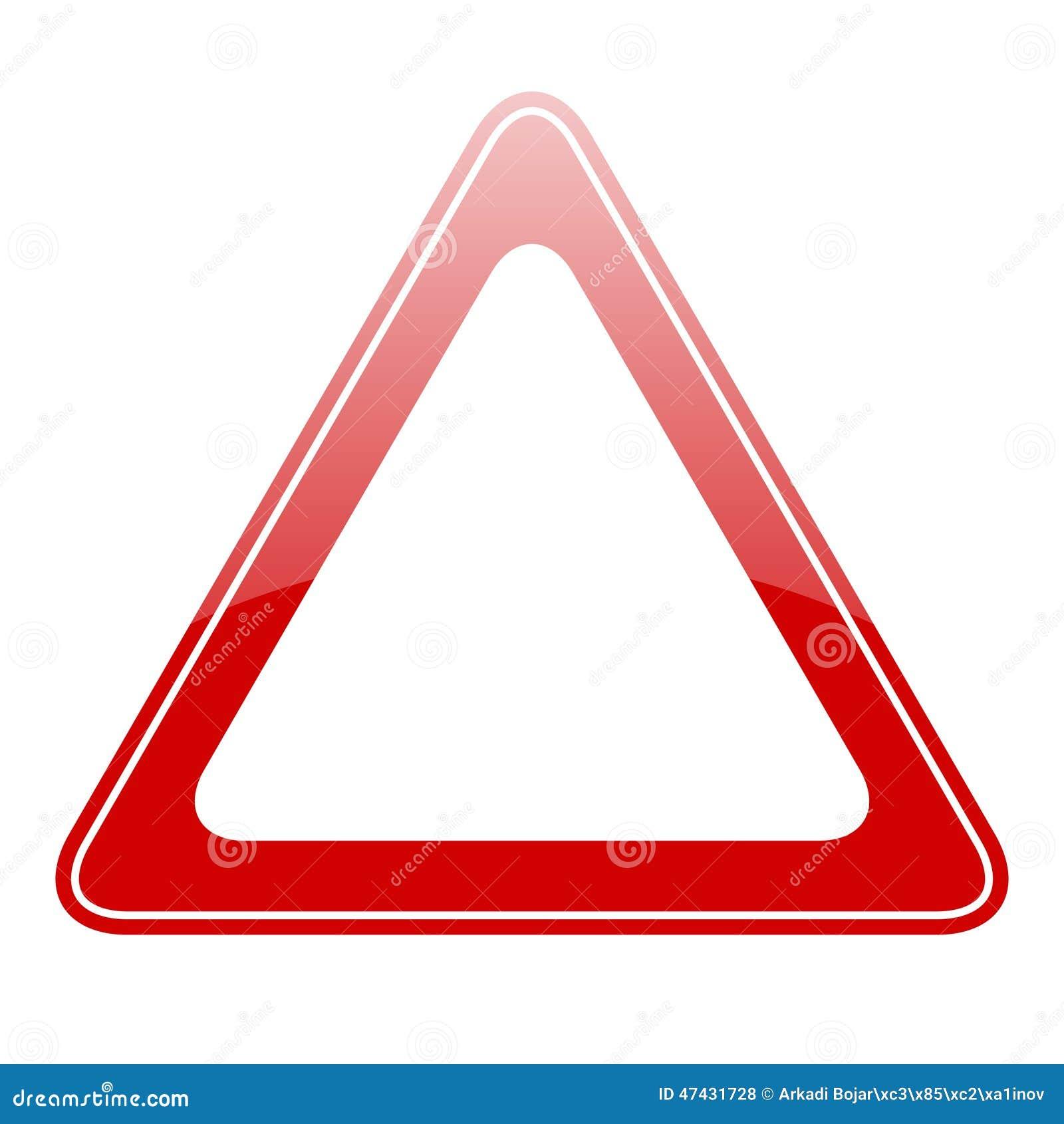 Segnale di pericolo in bianco illustrazione vettoriale immagine 47431728 - Piastrelle 15x15 bianco lucido ...