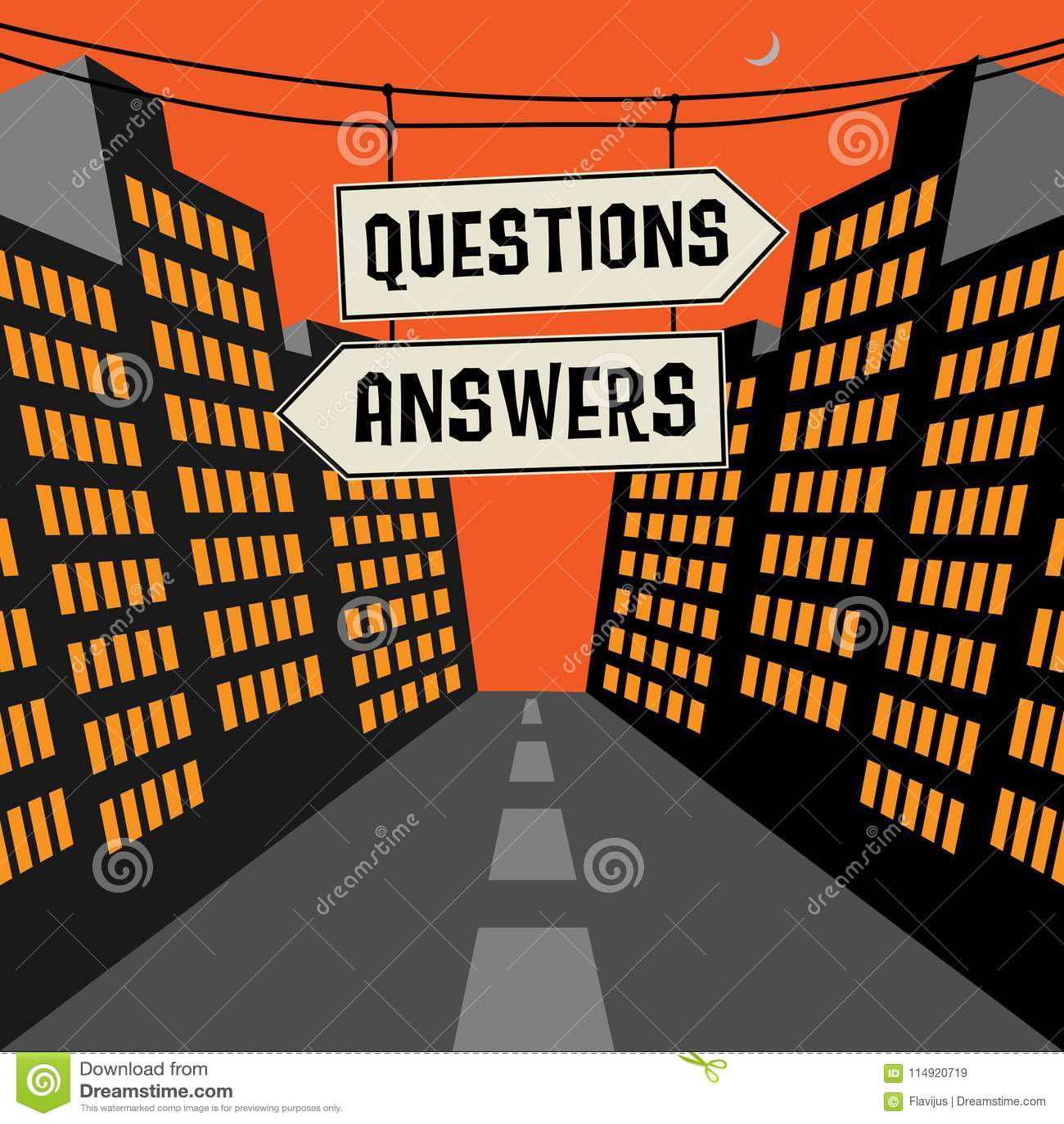 Segnale stradale con le frecce opposte e le domande del testo - risposte