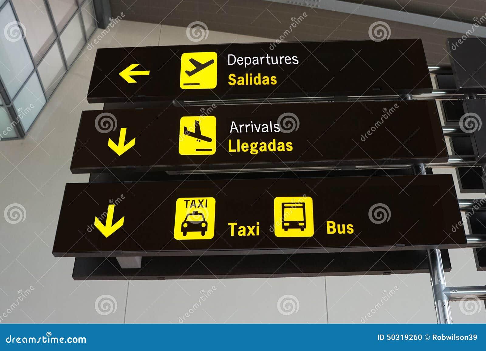 Segni dell aeroporto