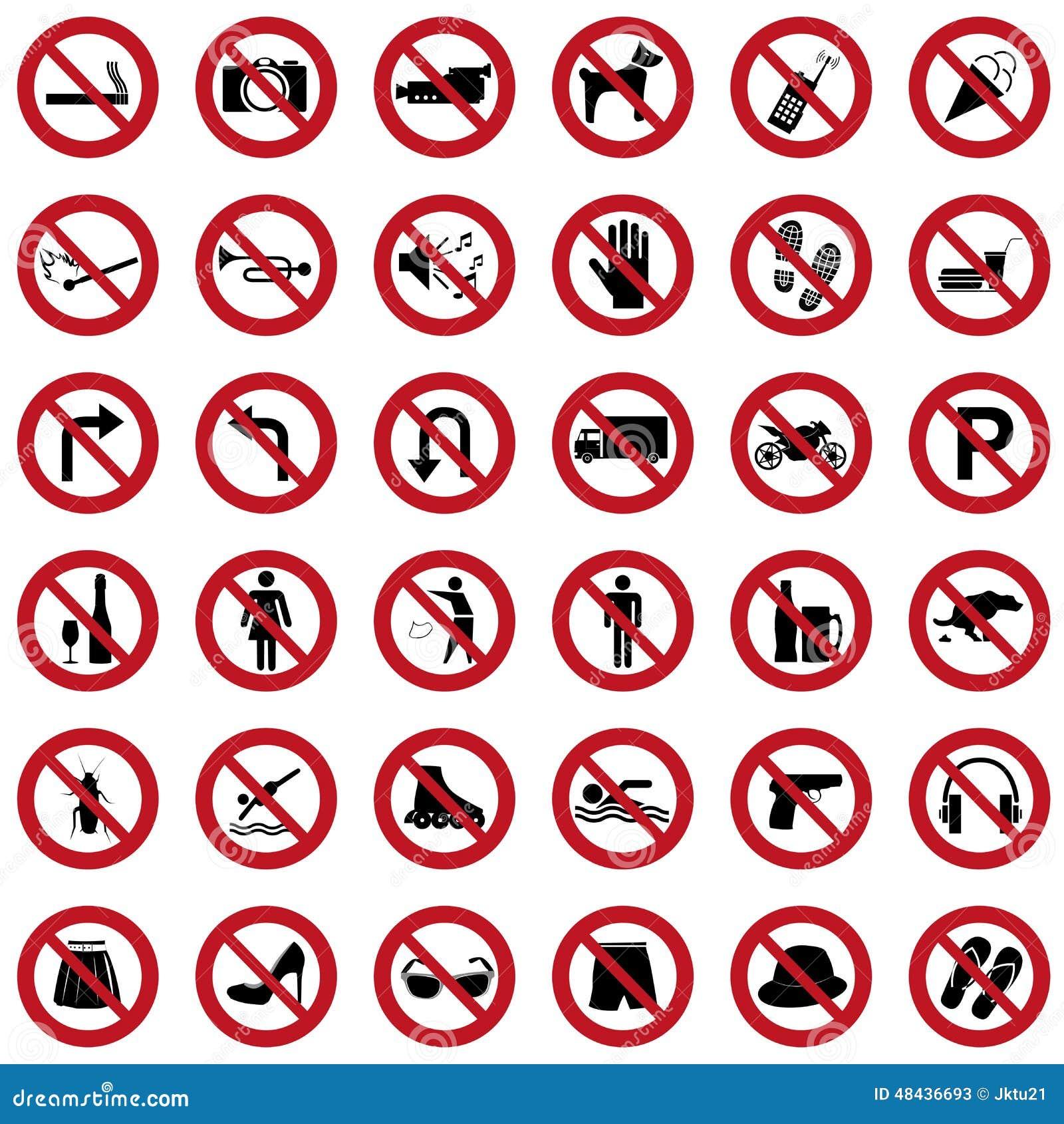 Segni di proibizione