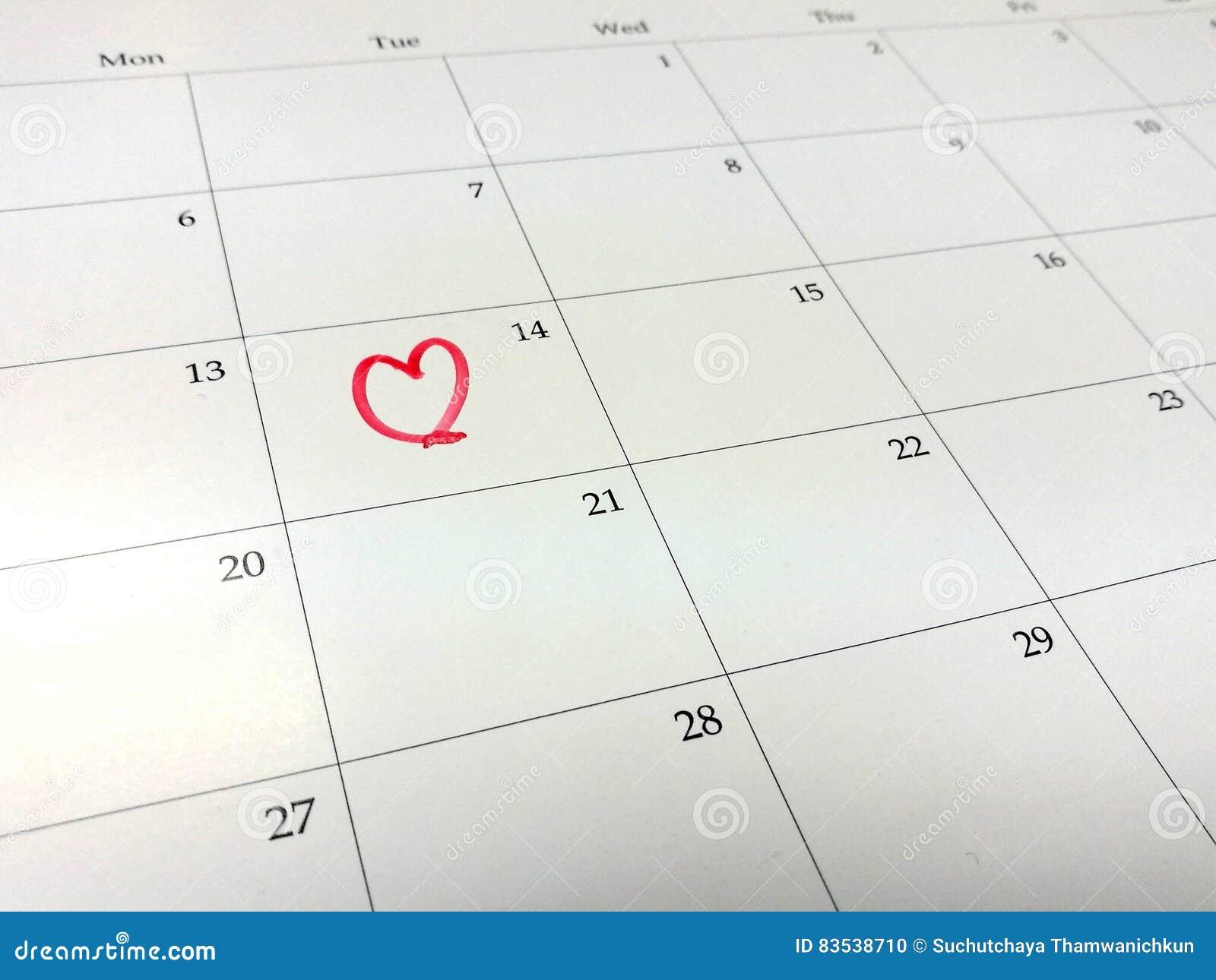 Calendario Segni.Segni La Vostra Data Sul Giorno Di S Valentino Sul