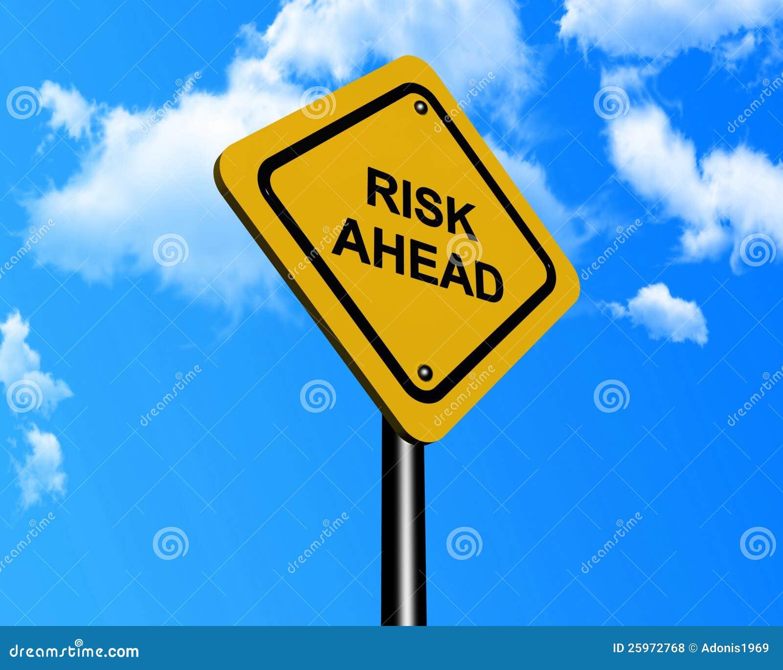 Segno che indica rischio avanti
