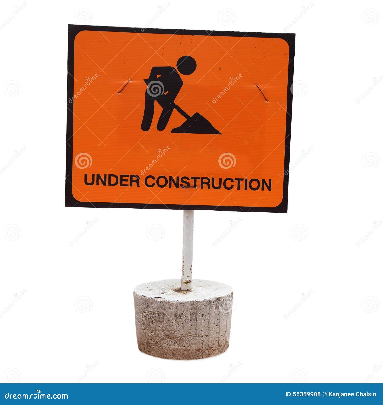 Segno in costruzione