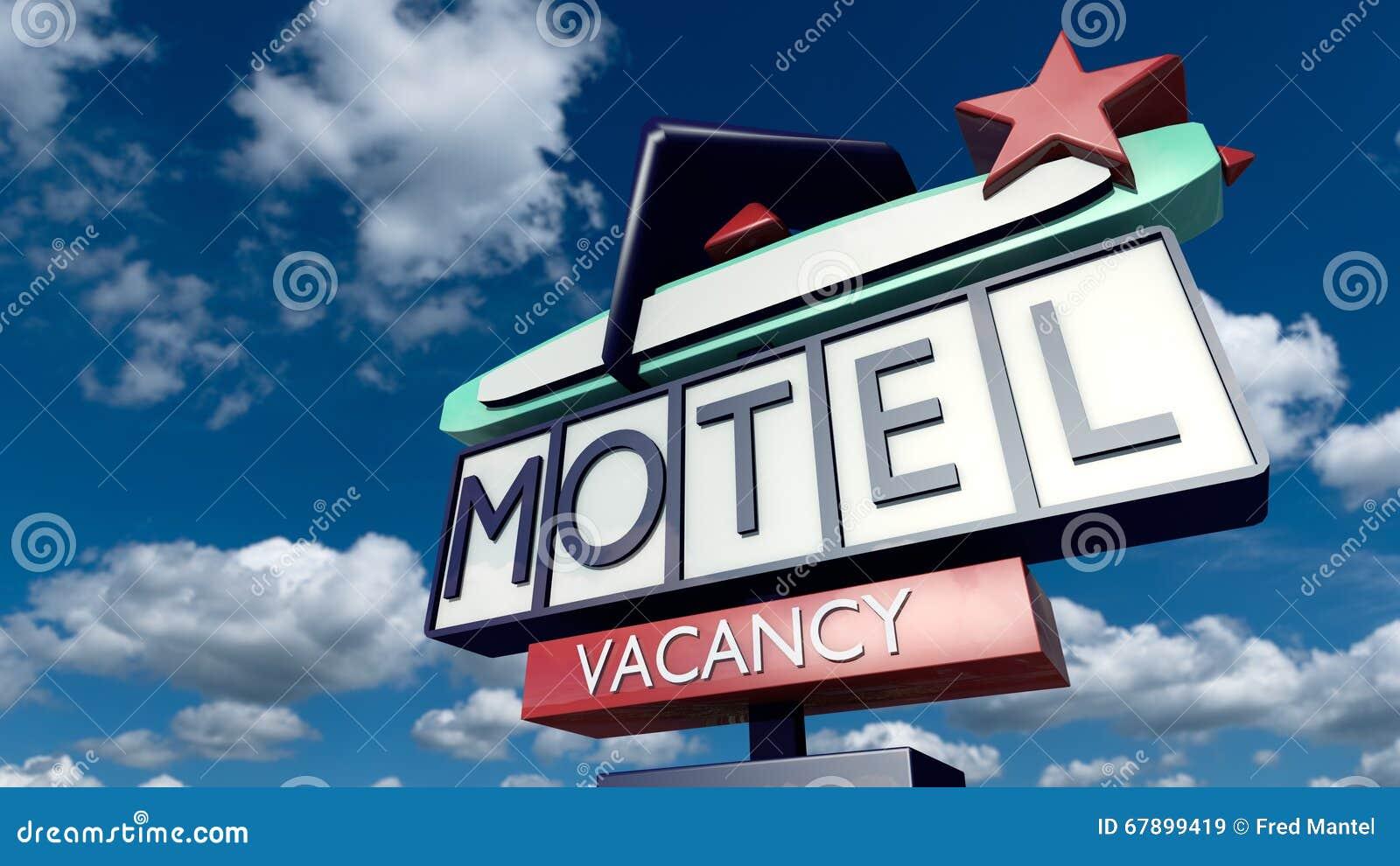 Segno d annata di un motel