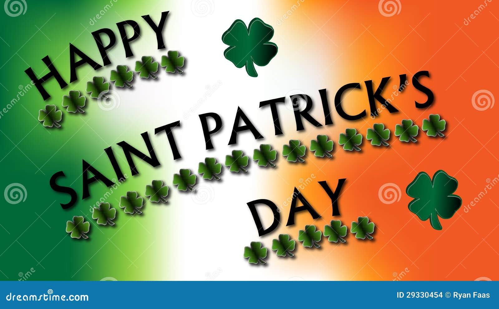 Segno dei trifogli del giorno di st patrick felice - Immagini st patrick a colori ...