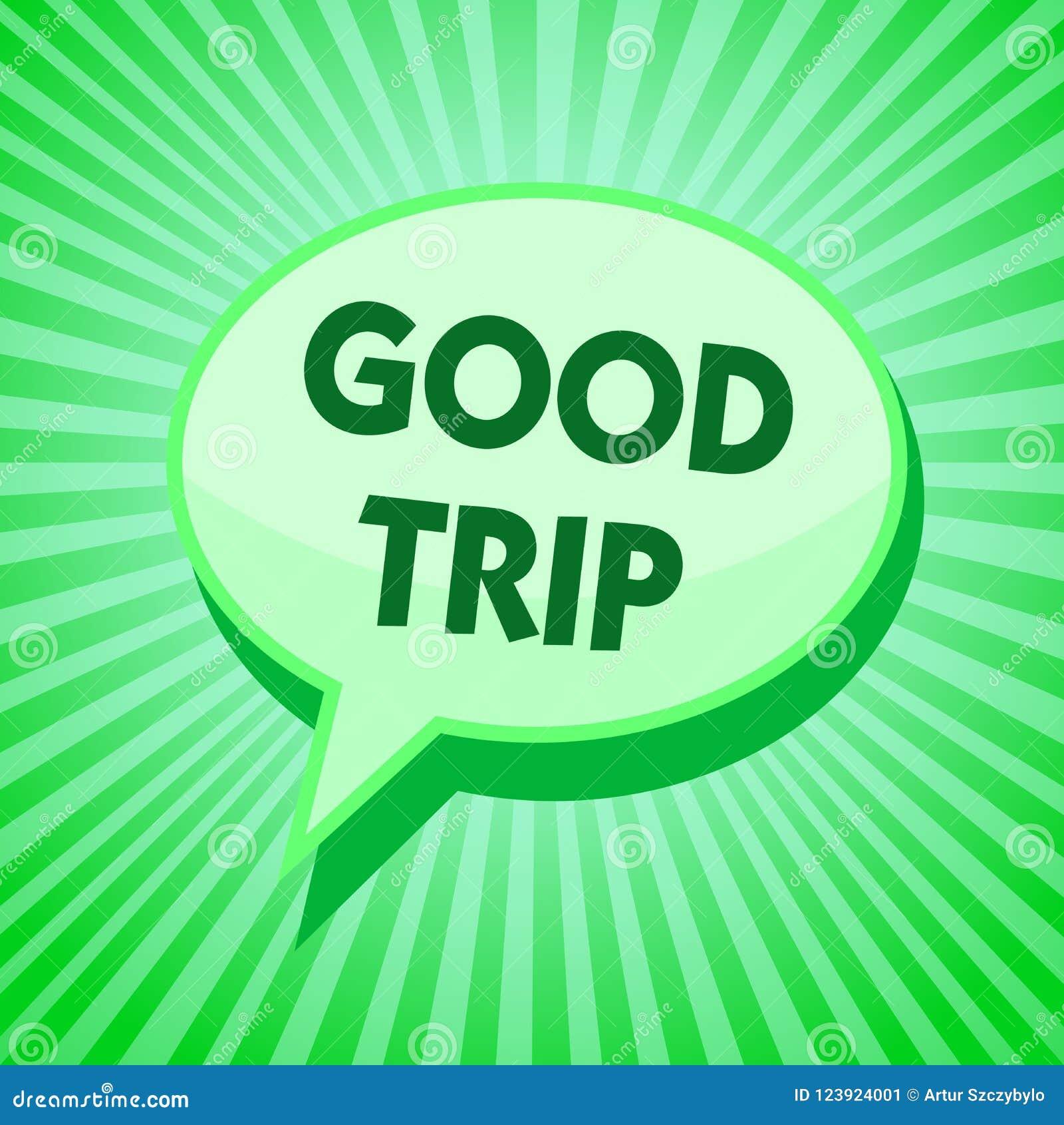 Segno Del Testo Che Mostra Buon Viaggio Viaggio O Viaggio